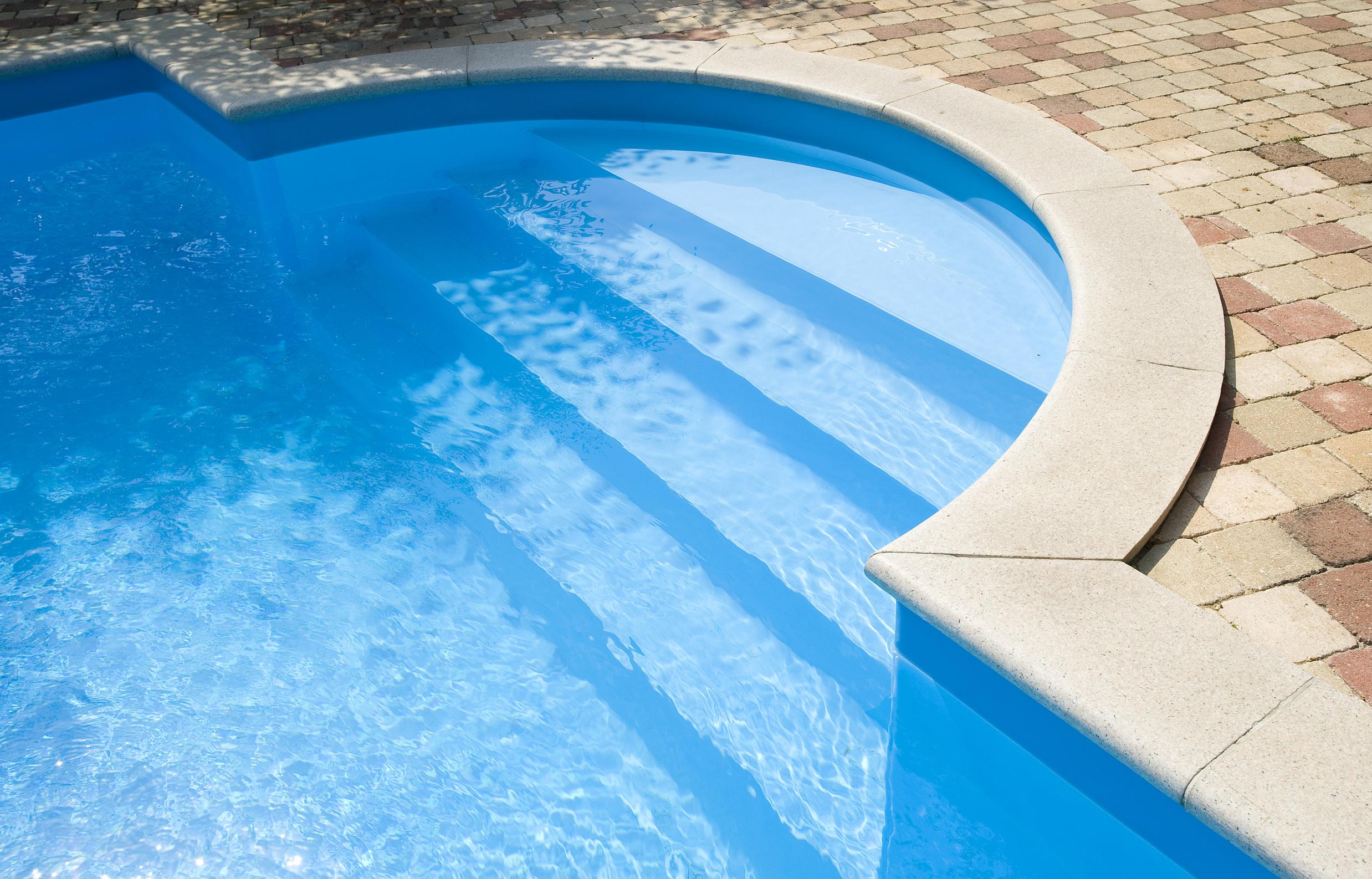 zwembad rond